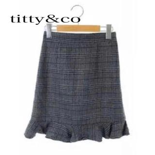 ティティアンドコー(titty&co)のtitty&co フレアスカート(ミニスカート)