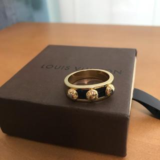 ルイヴィトン(LOUIS VUITTON)のLOUIS VUITTON ルイヴィトン指輪バーグギミアクルーリング レディース(リング(指輪))