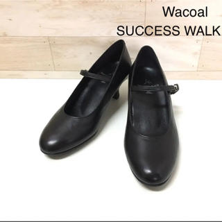 ワコール(Wacoal)の【SUCCESS WALK】パンプス(22.5 EE)ストラップ WFN561(ハイヒール/パンプス)