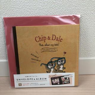 チップ&デール - チップとデール 封筒付きアルバム