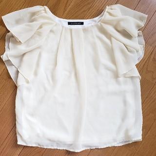 ページボーイ(PAGEBOY)のページボーイ シフォントップス(シャツ/ブラウス(半袖/袖なし))