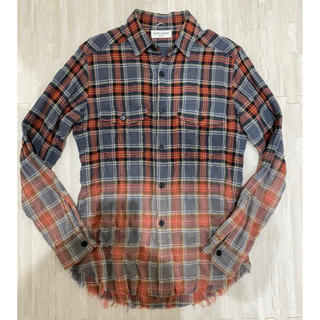 Saint Laurent - サンローランパリ チェックシャツ