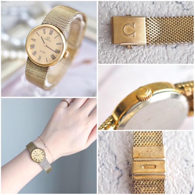 OMEGA(オメガ)の美品・全純正♦︎オメガ デビル ローマン ヴィンテージ♦︎トゥモローランド レディースのファッション小物(腕時計)の商品写真