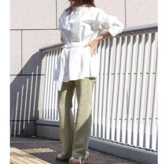 アングリッド(Ungrid)のT00515/Ungridフロントデザインシャツ(シャツ/ブラウス(長袖/七分))