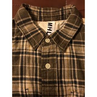 MARGARET HOWELL - MHL マーガレットハウエル ネルシャツ シャツ 美品