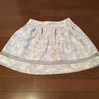 LODISPOTTO - LODISPOTTO フラワープリントスカート