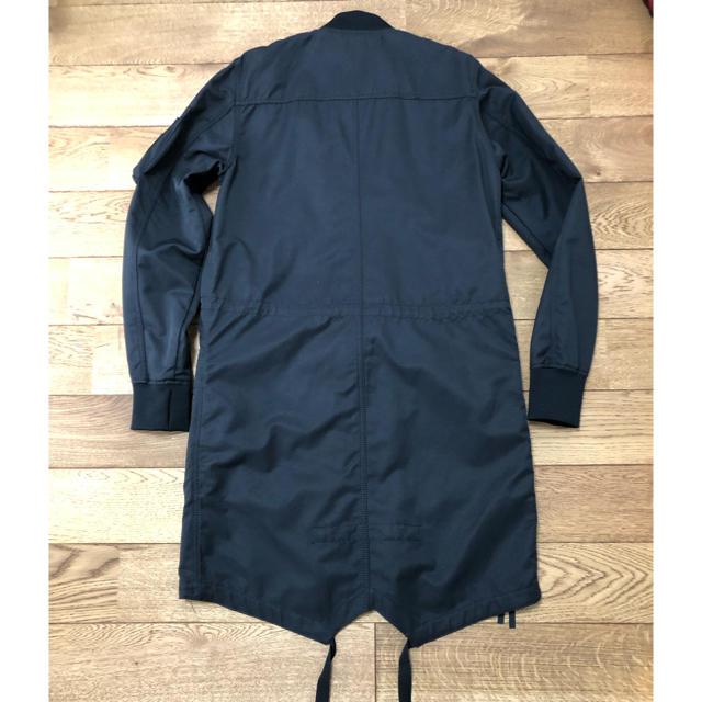 ZARA(ザラ)のZARA ロング ボンバー ジャケット メンズのジャケット/アウター(ブルゾン)の商品写真
