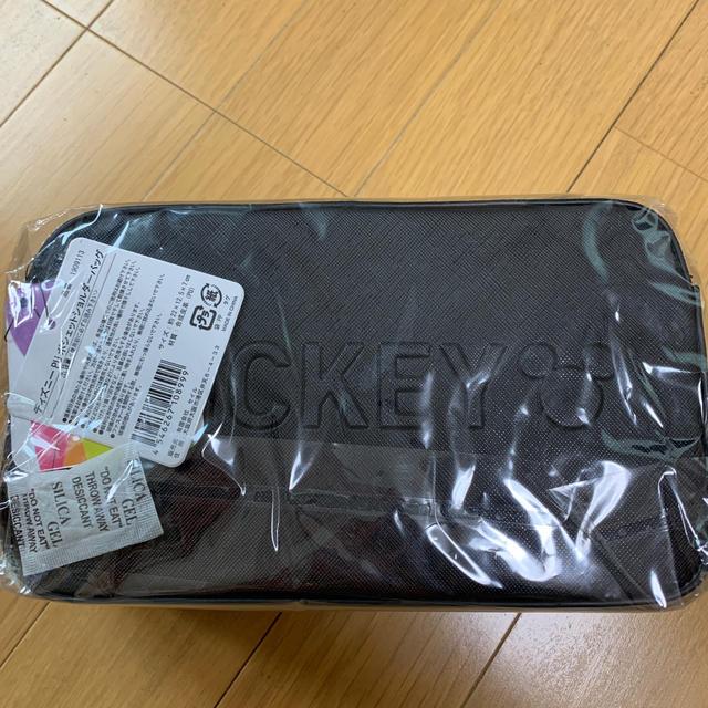 ミッキーマウス(ミッキーマウス)のディズニー PU ポシェットショルダーバッグ ミッキー新品未開封 レディースのバッグ(ショルダーバッグ)の商品写真