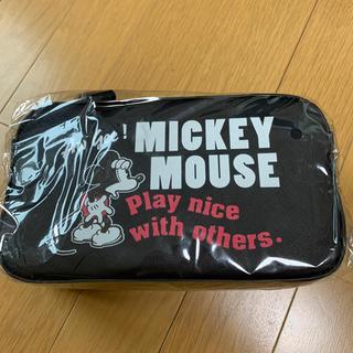 ミッキーマウス(ミッキーマウス)のディズニー PU ポシェットショルダーバッグ ミッキー新品未開封(ショルダーバッグ)