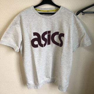 アシックス(asics)のアシックスタイガー スウェト生地半袖 XL 未使用(Tシャツ(半袖/袖なし))