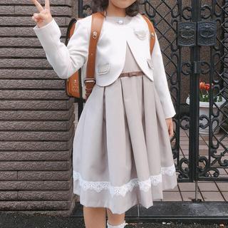 BEAMS - 子ども 女の子 入学式 発表会 スーツ ワンピース 130センチ BEAMS