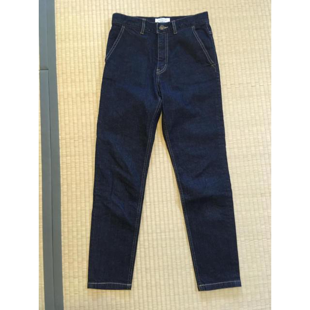 IENA SLOBE(イエナスローブ)のLE DENIM テーパードデニムパンツ レディースのパンツ(デニム/ジーンズ)の商品写真