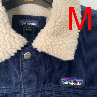 patagonia - パタゴニア パイルラインドトラッカージャケット ネイビー M