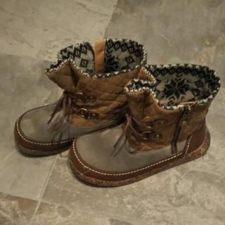 アシナガオジサン(あしながおじさん)のあしながおじさん新品ショートブーツ定価二万円程度(ブーツ)
