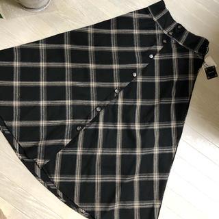 アベイル(Avail)の新品 チェック柄ロングスカート(ロングスカート)