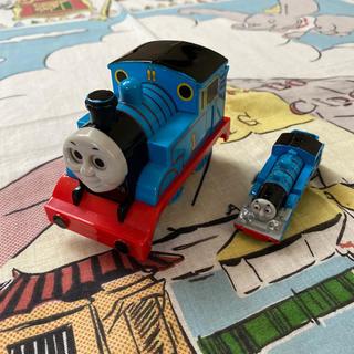 タカラトミー(Takara Tomy)のタカラトミー トーマス プルバックカー&ミニカー 2点セット(電車のおもちゃ/車)