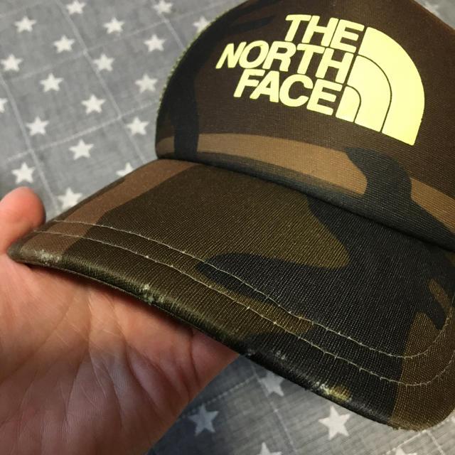 THE NORTH FACE(ザノースフェイス)のノースフェイス メッシュキャップkids キッズ/ベビー/マタニティのこども用ファッション小物(帽子)の商品写真
