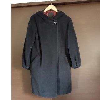 ダブルスタンダードクロージング(DOUBLE STANDARD CLOTHING)のソブ ファーフードコート(ロングコート)