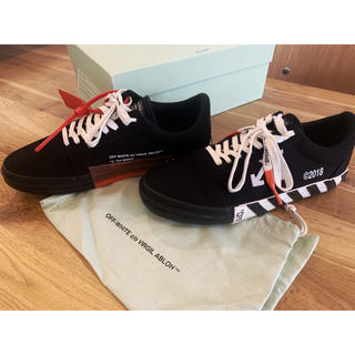OFF-WHITE - offwhite VULC LOW TOP オフホワイト