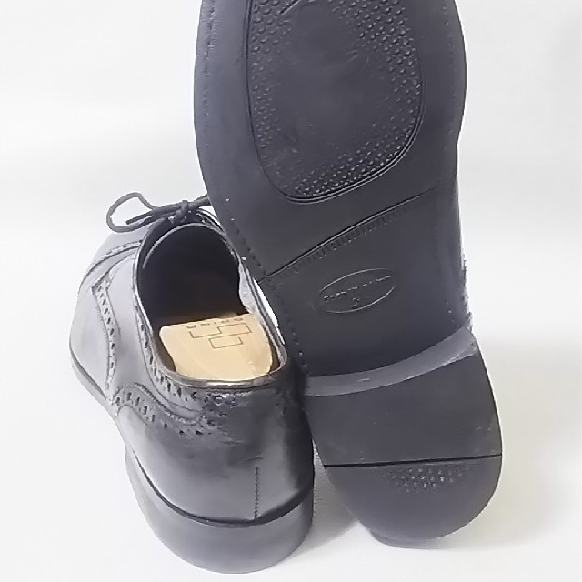 REGAL(リーガル)の 著名人愛用!名門リーガル高級牛革レザーストレートチップローファー人気黒!    メンズの靴/シューズ(ドレス/ビジネス)の商品写真