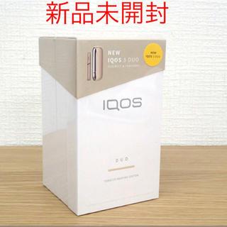 IQOS - 【新品未開封】IQOS3 DUO ブリリアントゴールド