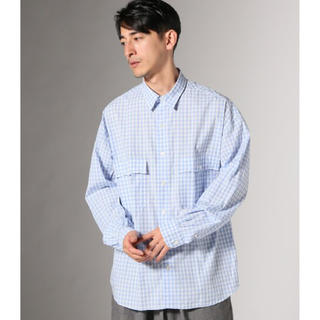 ポーター(PORTER)のPorter Classic ROLL UP GINGHAM SHIRT M(シャツ)