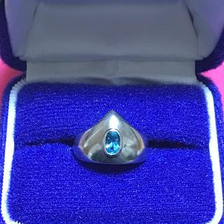 ジュエリーマキ(ジュエリーマキ)のブルートパーズ ジュエリーマキ 刻印 シルバー P5SV95 指輪 天然石(リング(指輪))