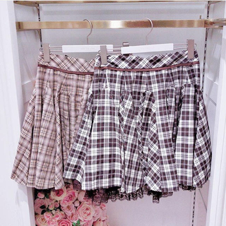 LODISPOTTO - mille fille closet チェック柄スカート