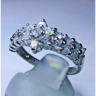 値下げ※天然ダイヤモンド1.00ctデザインリング(指輪)(リング(指輪))