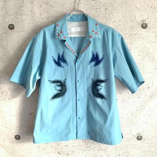 TOGA - TOGA PULLA 18SS トーガプルラ  トーガ 刺繍シャツ 半袖