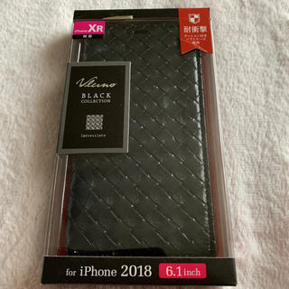 ELECOM - iPhoneXR ケース 手帳型 黒 ブラック