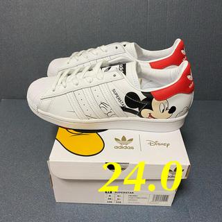 アディダス(adidas)のadidas Superstar DISNEY  24.0(スニーカー)