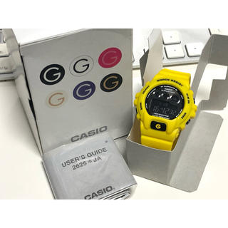 ベビージー(Baby-G)のG-SHOCK/mini/時計/イエロー/三ツ目/GMN-690/ミニ/未使用(腕時計(デジタル))
