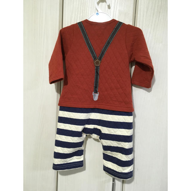 futafuta(フタフタ)のフタフタ ロンパース  セパレート風 キッズ/ベビー/マタニティのベビー服(~85cm)(ロンパース)の商品写真