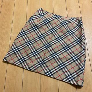 BURBERRY - バーバリー 台形スカート