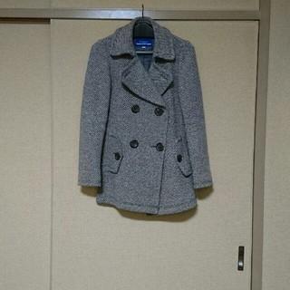 BURBERRY BLUE LABEL - バーバリー・ブルーレーベル Pジャケットコート