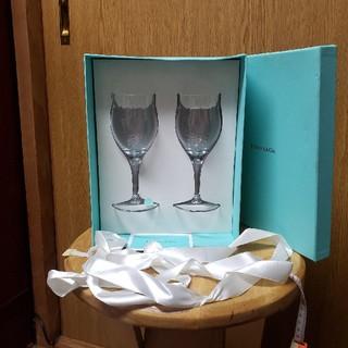 Tiffany & Co. - ティファニー ワイングラス2個組