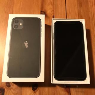 Apple - 新品未使用★iPhone11  BLACK 64GB ★SIMロック解除済