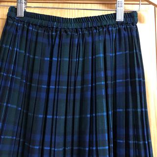 IENA - チェックプリーツスカート