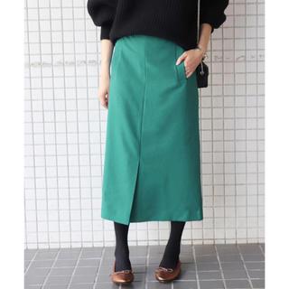 IENA SLOBE - スローブイエナ SLOBE IENA ウーリッシュフラノサイドポケットスカート