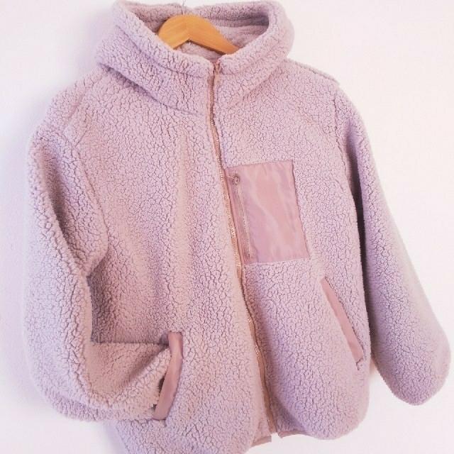 もこもこアウター レディースのジャケット/アウター(ブルゾン)の商品写真