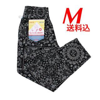 Mサイズ Cookman Chef Pants ブラック ペイズリー