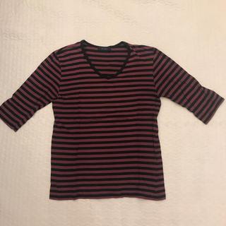 レイジブルー(RAGEBLUE)のレイジブルー ボーダーカットソー 五分袖 Tシャツ(Tシャツ/カットソー(七分/長袖))