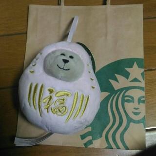 Starbucks Coffee - べアリスタだるまTOKYOピンクMini