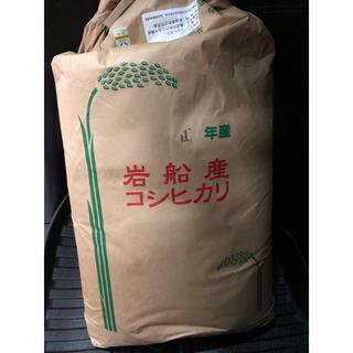 新潟県産コシヒカリ 岩船米 30kg 精米済