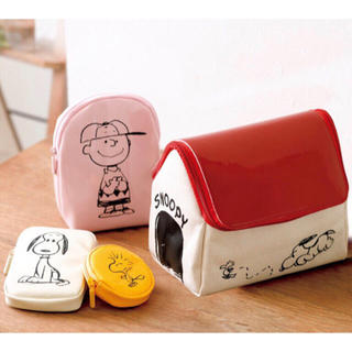 SNOOPY - SNOOPY ポーチ4点セット