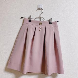 evelyn - evelyn ビジュー付き スカート