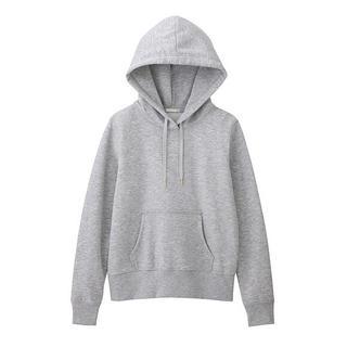 GU - 【GU(ジーユー)】スウェットプルパーカ(長袖)グレー Sサイズ