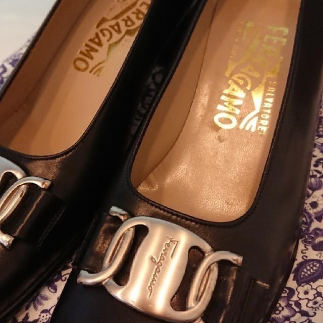 Salvatore Ferragamo(サルヴァトーレフェラガモ)のフェラガモ  靴 パンプス 6c レディースの靴/シューズ(ハイヒール/パンプス)の商品写真