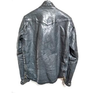 ザリアルマッコイズ(THE REAL McCOY'S)のライズヴィル 34 XS レザージャケット ライダース(ライダースジャケット)